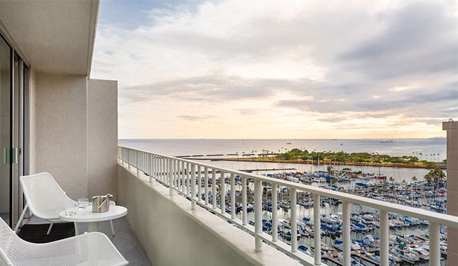 One Bed Two Bath Ocean View Suite